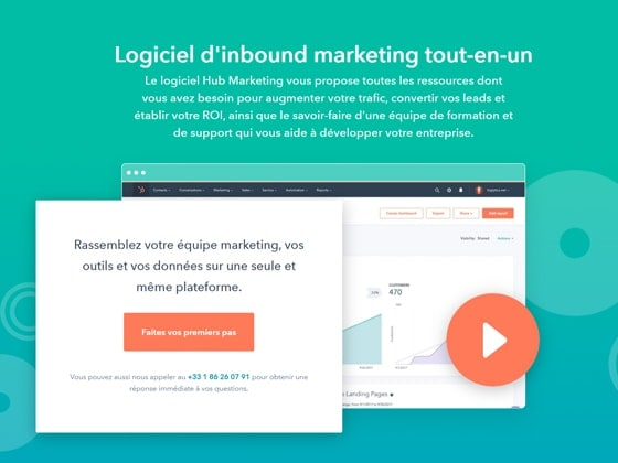 Outil marketing automation Hub Marketing