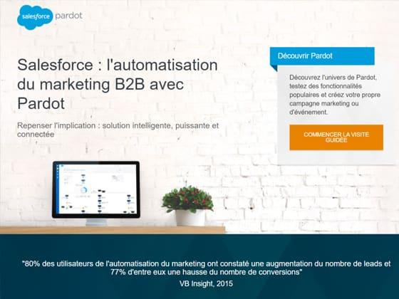 Outil marketing automation Pardot