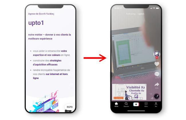 Tiktok Dysnamic Product Ads, article upto1 sur les nouvelles fonctionnalités TikTok Ads